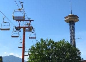 Gatlinburg Sky Lift in Gatlinburg Tn