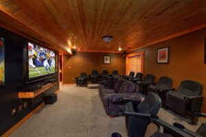 Cabin Home Theater